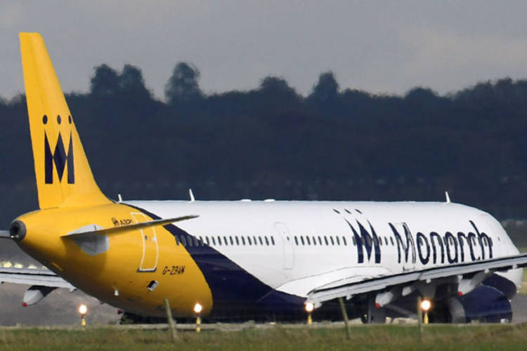 monarch airlines fallimento