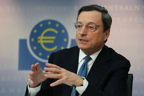 Mario Draghi © GettyImages