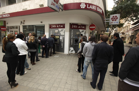 Laiki Bank © Getty Images