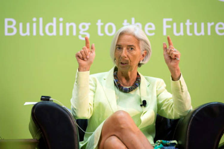 Christine Lagarde © Getty Images