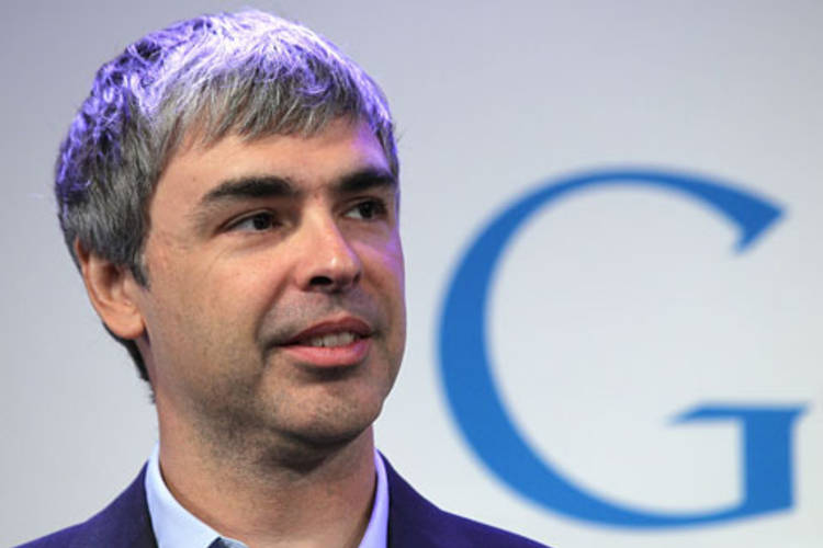 Larry Page © Getty Images