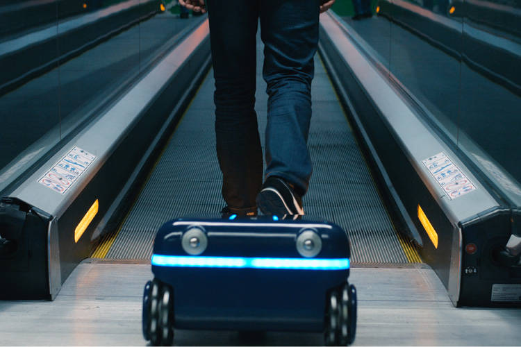 Trolley robot Travelmate Robotics