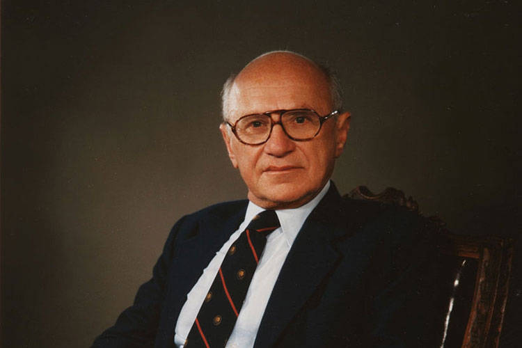 Milton Friedman © Getty Images