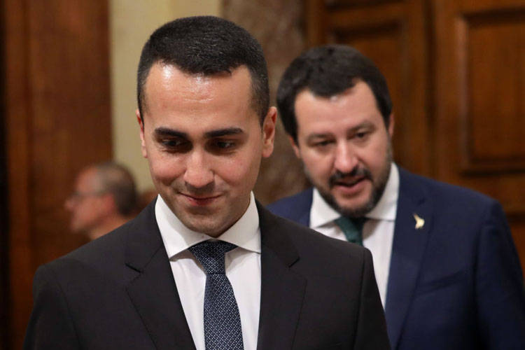 Luigi di Maio e Matteo Salvini © Getty Images
