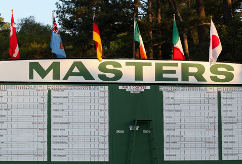 Masters Augusta 2012 © Getty Images