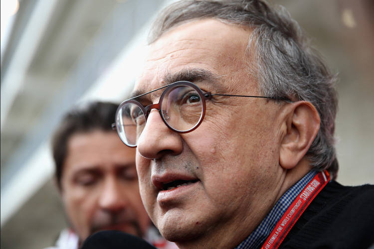 Sergio Marchionne © Clive Mason/Getty Images