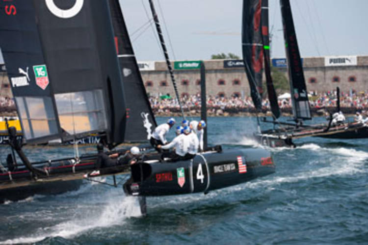 America's Cup, le World Series a Oracle Team Usa