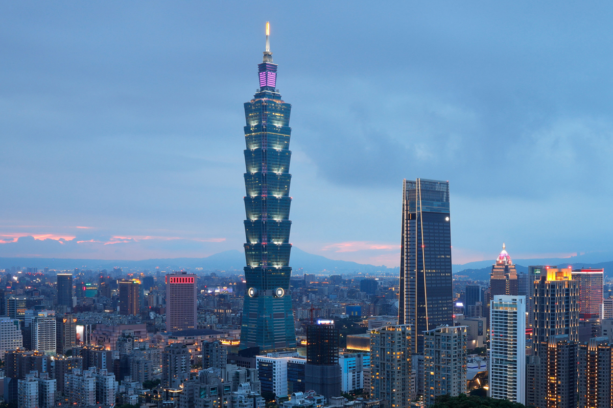 Taipei 101 – Taipei © Getty Images