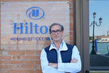 Antonello De Medici General Manager Hilton Molino Stucky