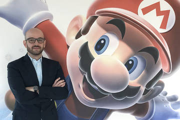 Stefano Calcagni Head of Marketing Nintendo