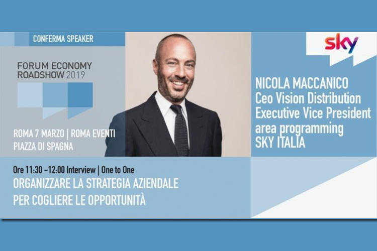 Business People intervista Nicola Maccanico: appuntamento il 7 marzo a Roma