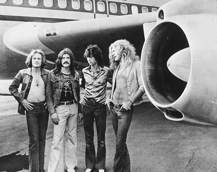 Led Zeppelin  © Getty Images